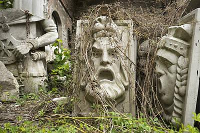 Old Statues In Skopje Poster