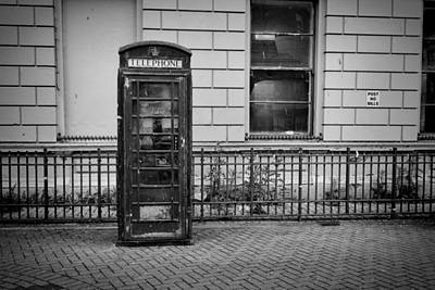 Old Telephone Box Poster