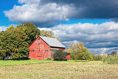 Old Vermont Barn Poster by William Alexander