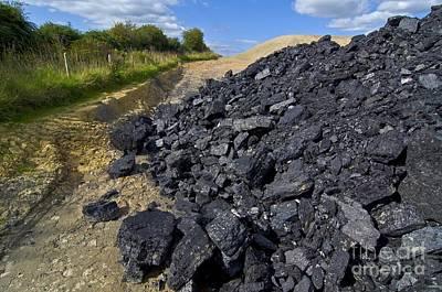 Opencast Coal Poster by Chris Knapton