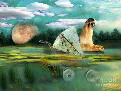 Ophelia Poster by Carolyn Slattery