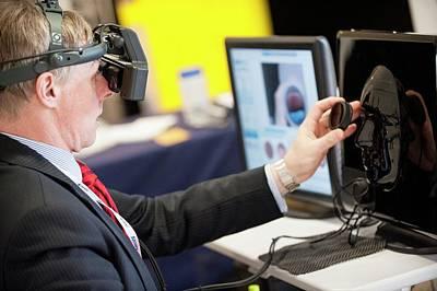 Optometry Virtual Reality Demonstration Poster