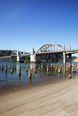 Or, Florence, Siuslaw River Bridge Poster by Jamie and Judy Wild