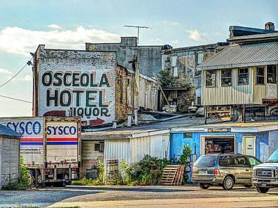 Osceola Hotel Poster by MJ Olsen