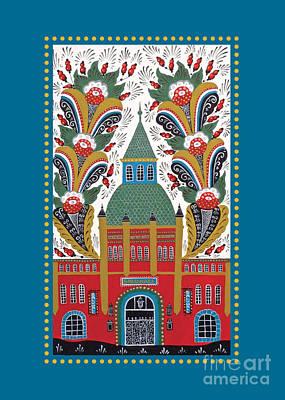 Ostermalmshallen Card/poster Poster