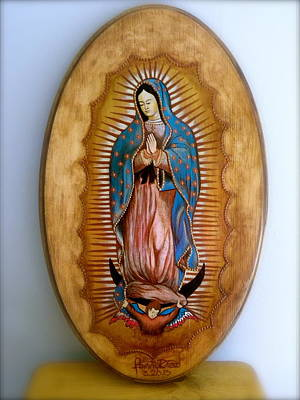 Our Lady Of Guadalupe Poster by Fanny Diaz