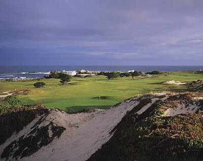Pacific Grove Municipal Golf Course Poster by Stephen Szurlej