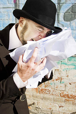 Paperwork Blues Poster