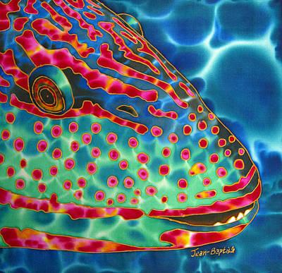 Parrotfish Poster by Daniel Jean-Baptiste