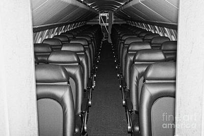 passenger cabin of the British Airways Concorde  Poster