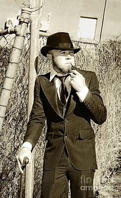 Pastime Pipe Smoker Poster
