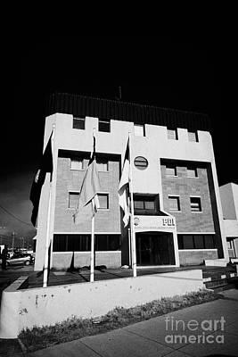 Pdi Policia De Investigaciones De Chile Offices Punta Arenas Chile Poster by Joe Fox