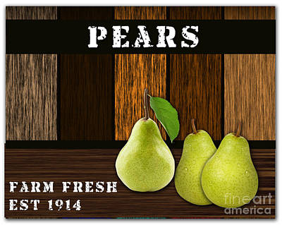 Pear Farm Poster by Marvin Blaine