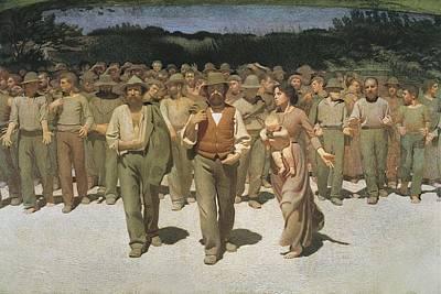 Pellizza Da Volpedo, Giuseppe Poster by Everett
