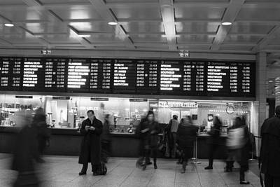 Poster featuring the photograph Penn Station by Steven Macanka
