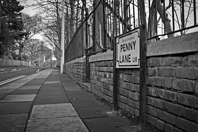 Penny Lane Poster by Ken Biggs