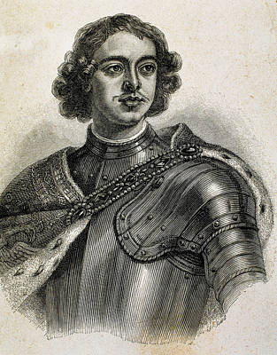 Peter I The Great (1672-1725 Poster by Prisma Archivo