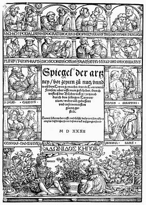Physicians, 1532 Poster by Granger
