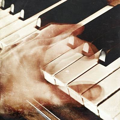 Piano Poster by HD Connelly