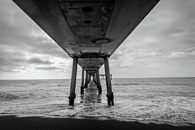 Pier In The Pacific Ocean, Pacifica Poster by Panoramic Images