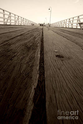Pier Planks Poster by Jorgo Photography - Wall Art Gallery