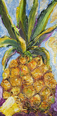 Pineapple Poster by Paris Wyatt Llanso