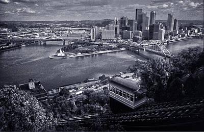 Pittsburgh Poster by Robert Fawcett