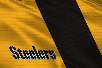 Pittsburgh Steelers Uniform Poster