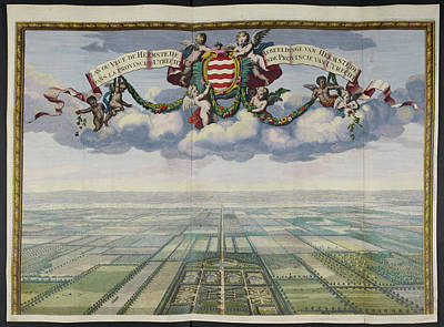 Plan Or View Of Heemstede Poster by British Library