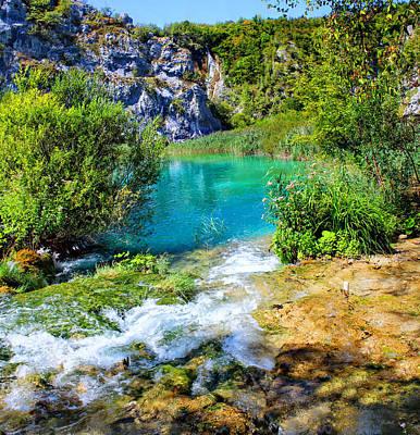 Plitvicka Jezera Poster