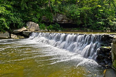Plum Creek Falls Poster by Frozen in Time Fine Art Photography