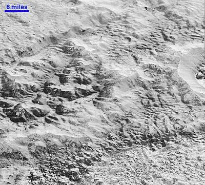 Pluto's Ice Crust Poster by Nasa/johns Hopkins University Applied Physics Laboratory/southwest Research Institute