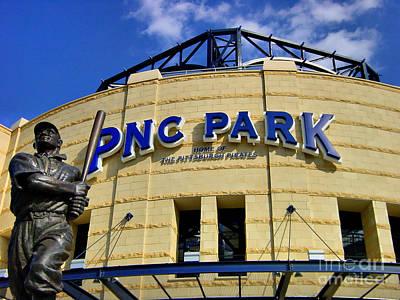 Pnc Park Baseball Stadium Pittsburgh Pennsylvania Poster by Amy Cicconi