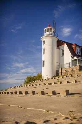 Point Betsie Lighthouse Michigan Poster