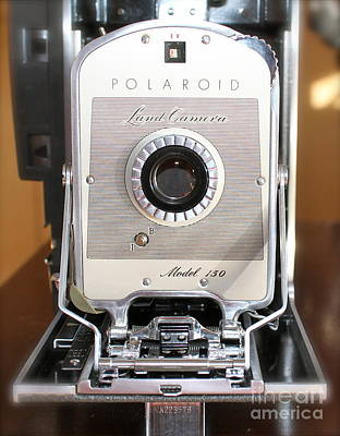 Polaroid Land Camera Poster