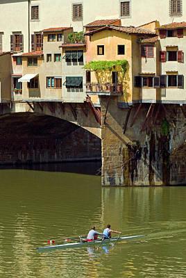 Ponte Vecchio (1345 Poster by Nico Tondini