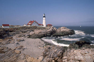 Portland Head Lighthouse Poster by Bruce Roberts