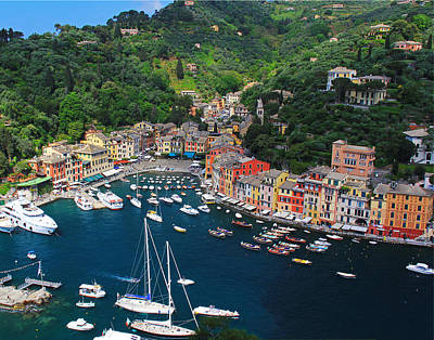Portofino - Italy Poster by Richard Krebs