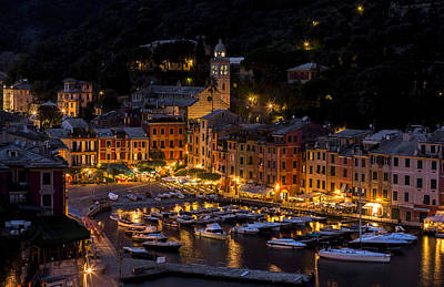 Portofino Italy - Hi Res Poster by Carl Amoth
