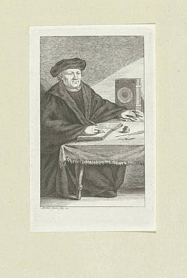 Portrait Of Martin Luther Poster by Quint Lox