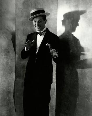 Portrait Of Maurice Chevalier Poster by Edward Steichen