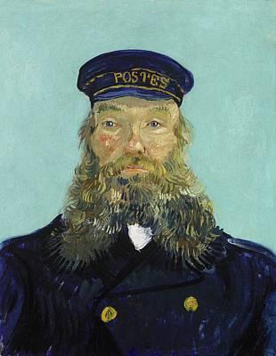 Portrait Of Postman Roulin Poster by Vincent van Gogh