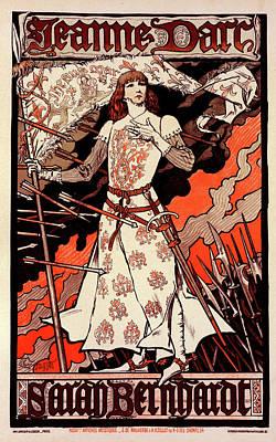 Poster For Le Théâtre De La Renaissance Poster