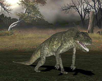 Postosuchus Dinosaur Poster