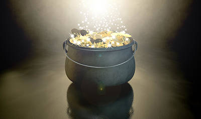 Pot Of Gold Poster by Allan Swart