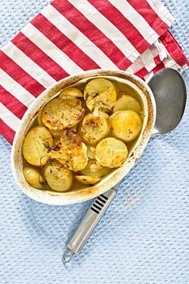 Potato Dish Poster