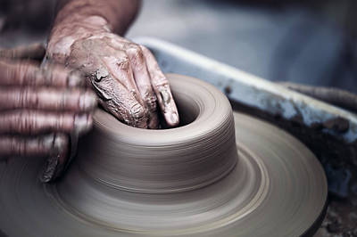 Pottery Wheel Poster