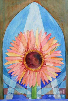 Praying Gerbera Poster by Shirin Shahram Badie