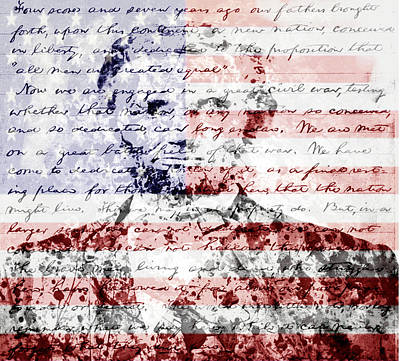 President Lincoln Poster by Brian Reaves