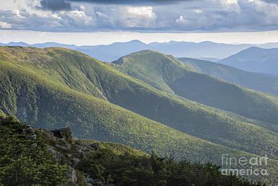 Presidential Range - White Mountains New Hampshire Poster by Erin Paul Donovan